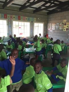 Barna i barnehagen
